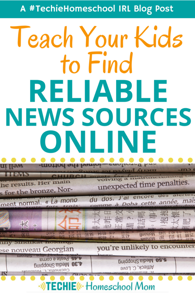 It seems my kids believe everything they read on the Internet. It's up to us parents to teach them how to find out if a news source is reliable. This article share some smart tips for avoiding fake news.