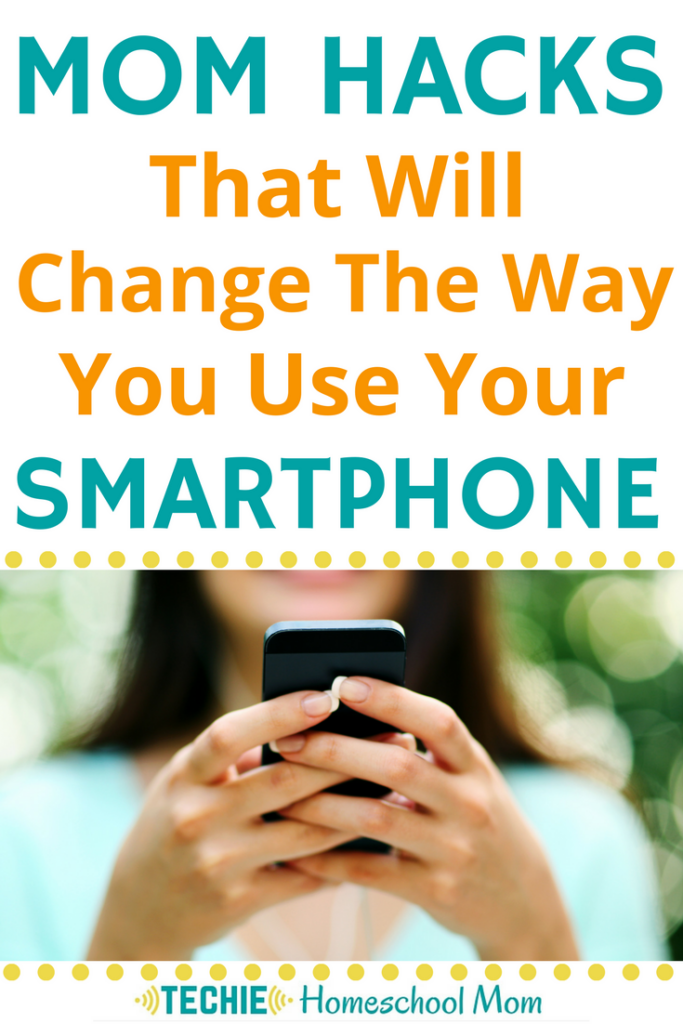 I never thought of lots of these ways to use my phone. These mom hacks are great for homeschooling.
