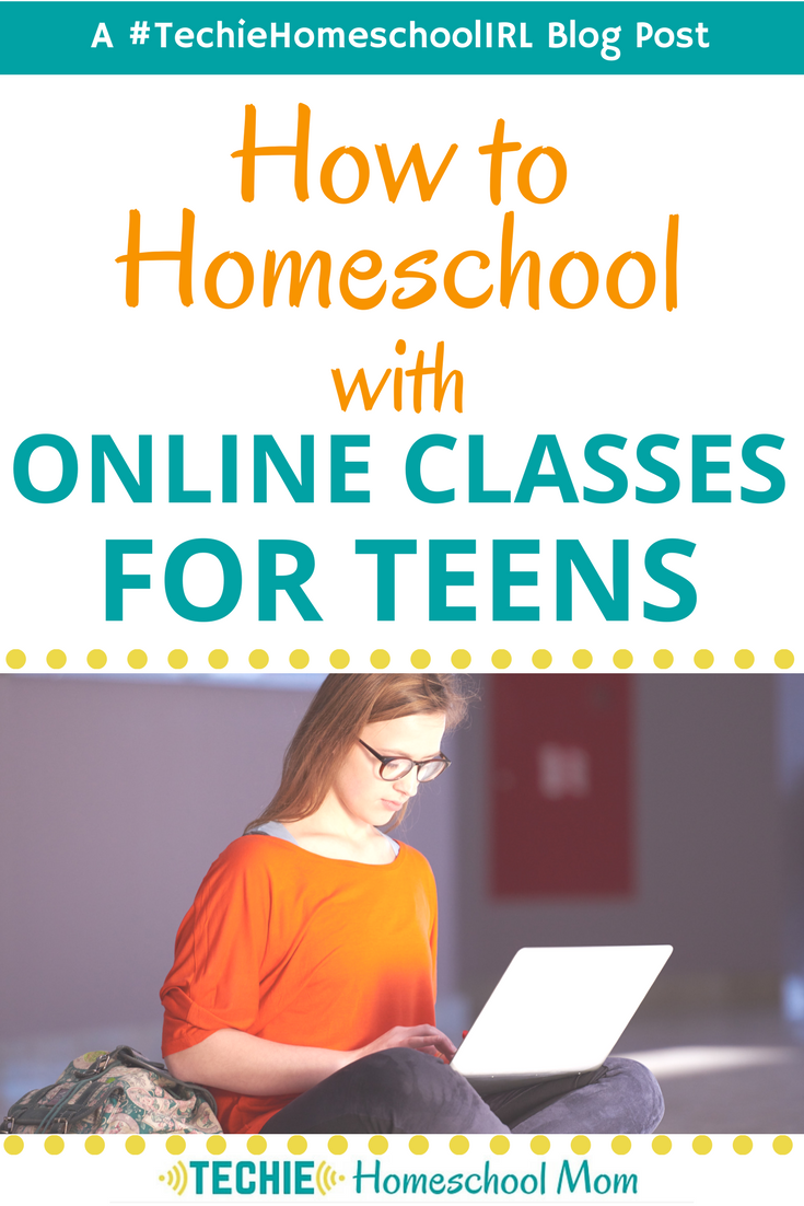 How to Homeschool With Online Classes for Teens