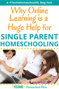 Single parents are superstars, especially the ones who homeschool. I love this post where one single mom shares how technology helps her to homeschool.