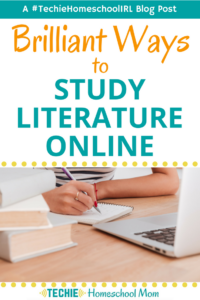 Get some great ideas from an expert educator (and seasoned homeschool mom) for teaching your kids about literature with online resources.