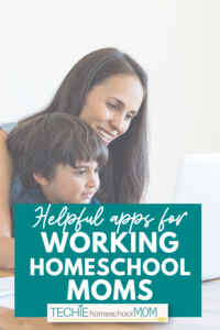 Wow! These are some great ideas for keeping your family organized if you're a working homeschoool mom (or even NOT a working homeschool mom)