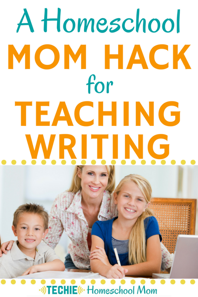 Seriously ... helping your kids with their writing assignments can be painful. That's why this hack using two free apps has saved my relationship with my kids.