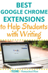 Looking for some tips and tools to help your child with their writing projects? This list shares the best Google Chrome extensions for developing writing skills.