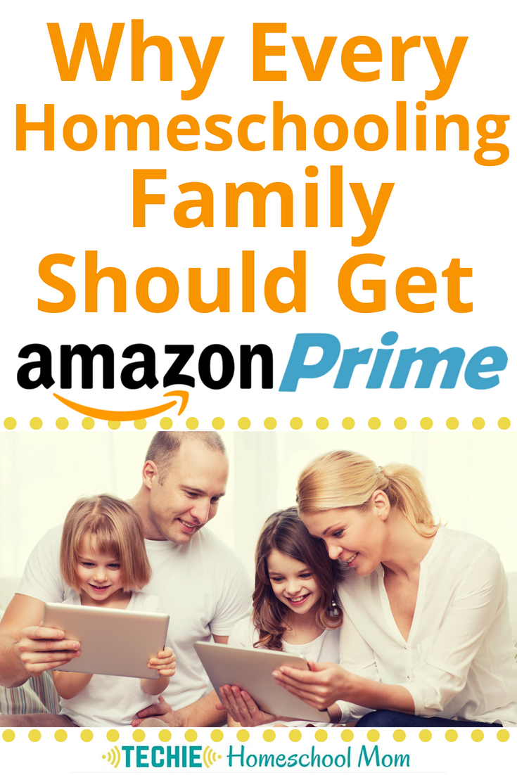 Why Every Homeschooling Family Should Get Amazon Prime