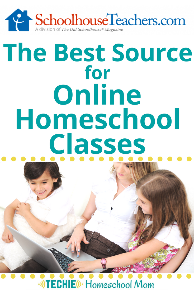 I never realized all the features on SchoolhouseTeachers.com! Find out why it is the best place to find online homeschool classes.