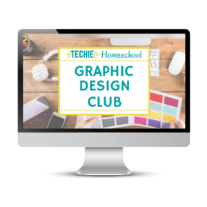 Techie Homeschool Graphic Design Club