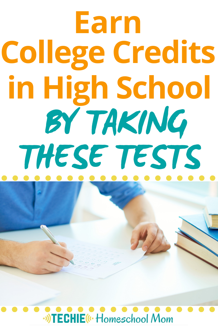 No way! You can earn college credits by taking an exam of your prior knowledge?? This is gold for homeschoolers who can plan their high school education with these exams in mind. And with the study guides at Study.com, prep is so much easier!