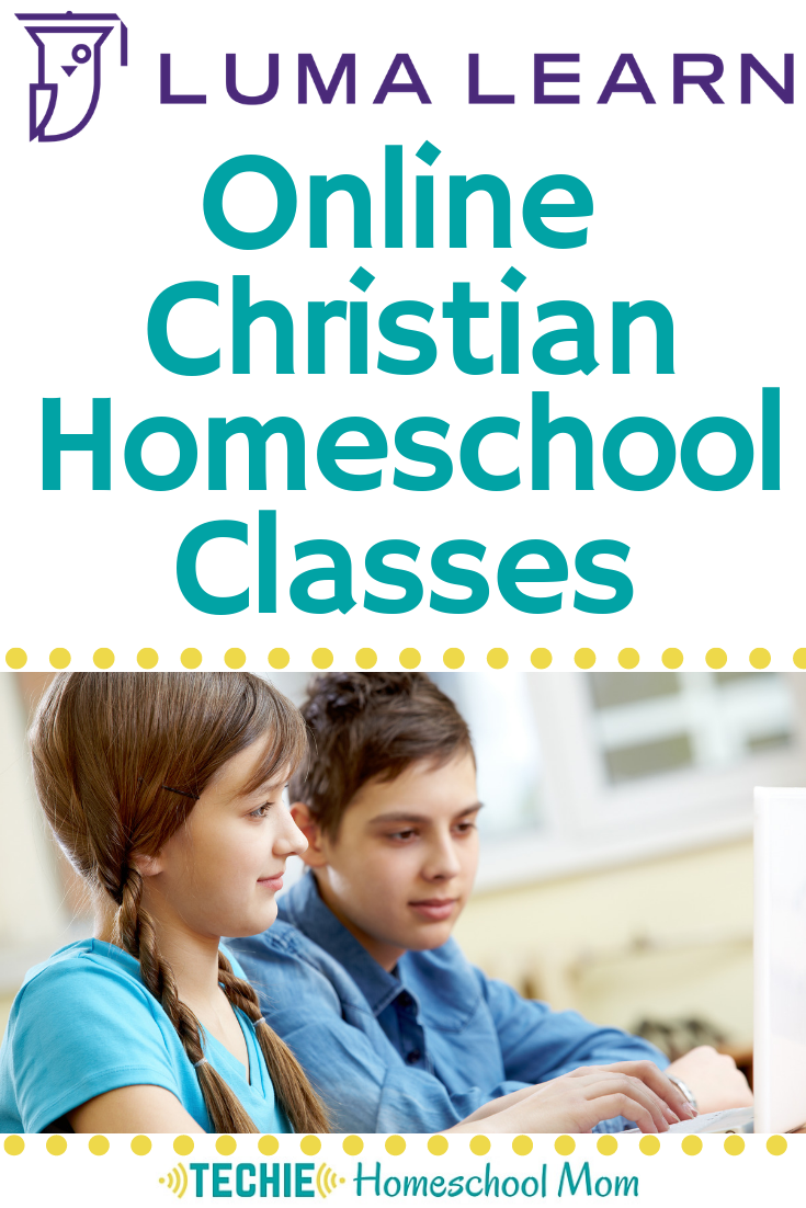 Have you tried Luma Learn yet? They've got a huge selection of online courses for homeschoolers, all taught by Christian teachers with a Biblical Worldview.