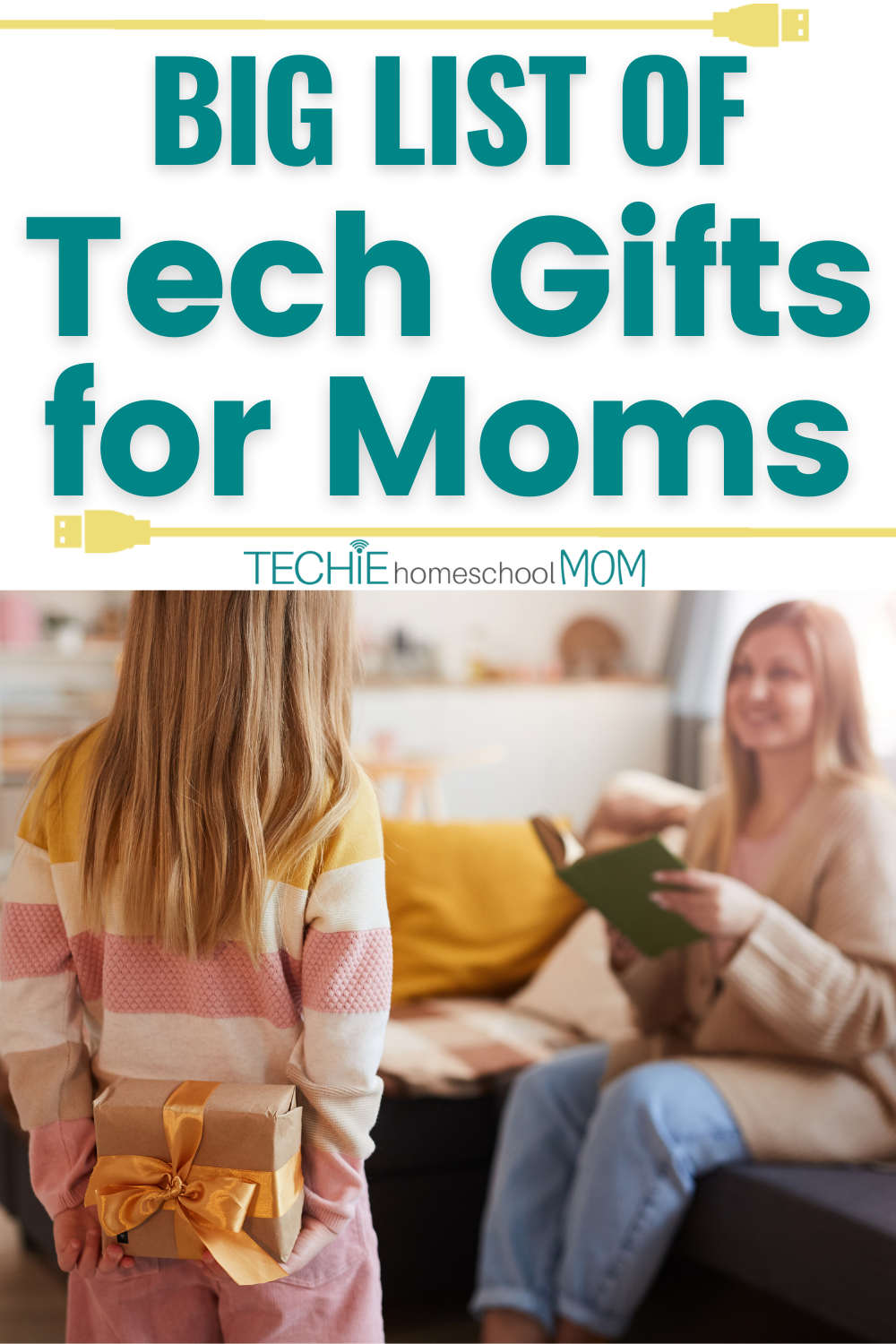 Gotta' Mother Who Loves Gadgets and Gizmos? Check Out This List to Find the Best Tech Gift for Mom.