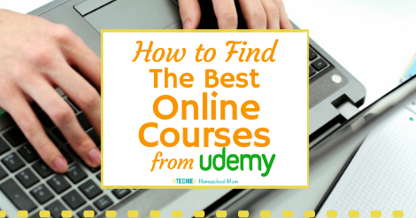 How to Find the Best Udemy Courses - Techie Homeschool Mom