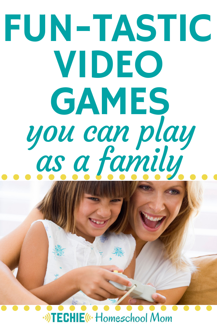 I never thought of playing video games WITH my kids. The ones on this list seem like lots of fun.