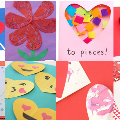 Simple Homemade Valentine's Day Cards Kids Can Make