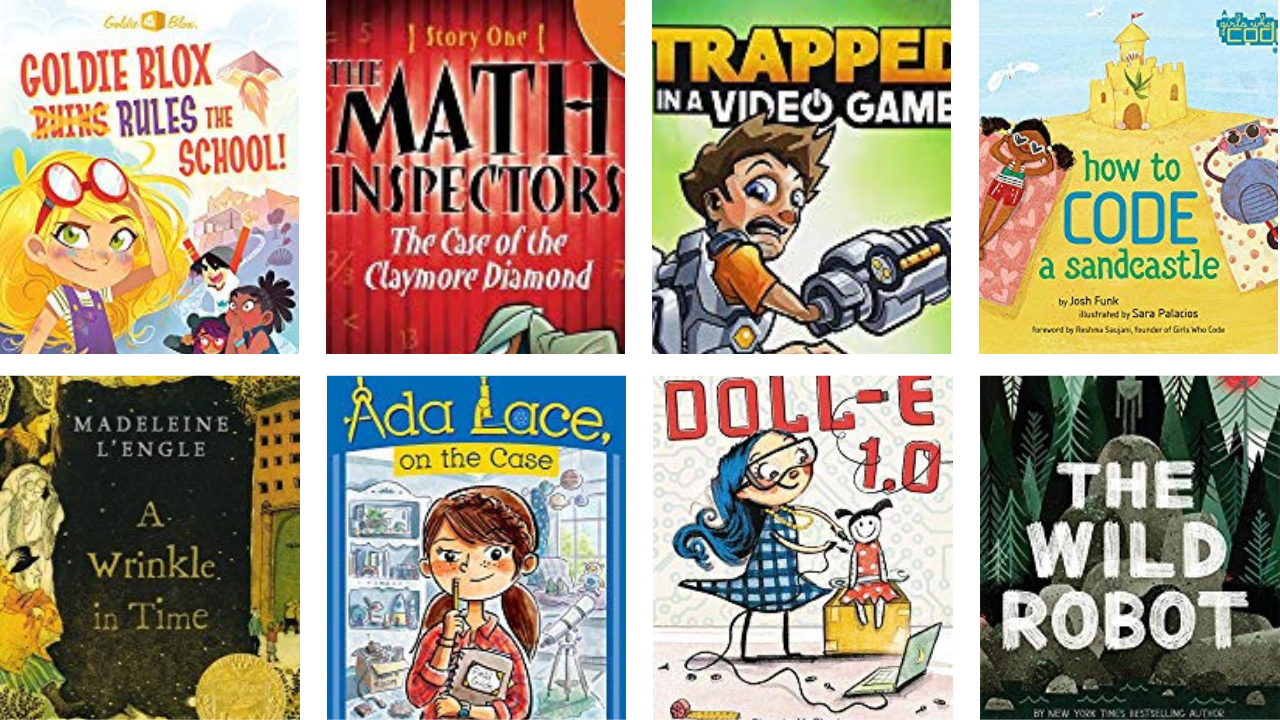20 Fiction Books for Kids Who Love Science and Tech