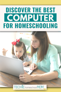 As you delve into more and more online homeschooling, you'll need more and more computers. Find out why Chromebooks are so popular amongst homeschool families. And why I think they are the absolute best computers for homeschooling.