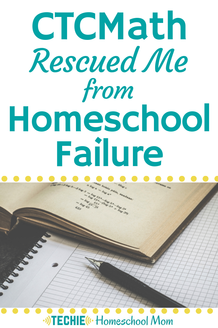 I was failing my kids, all because of my attitude about math. CTCMath saved me and now my kids are getting the homeschool math instruction they need.