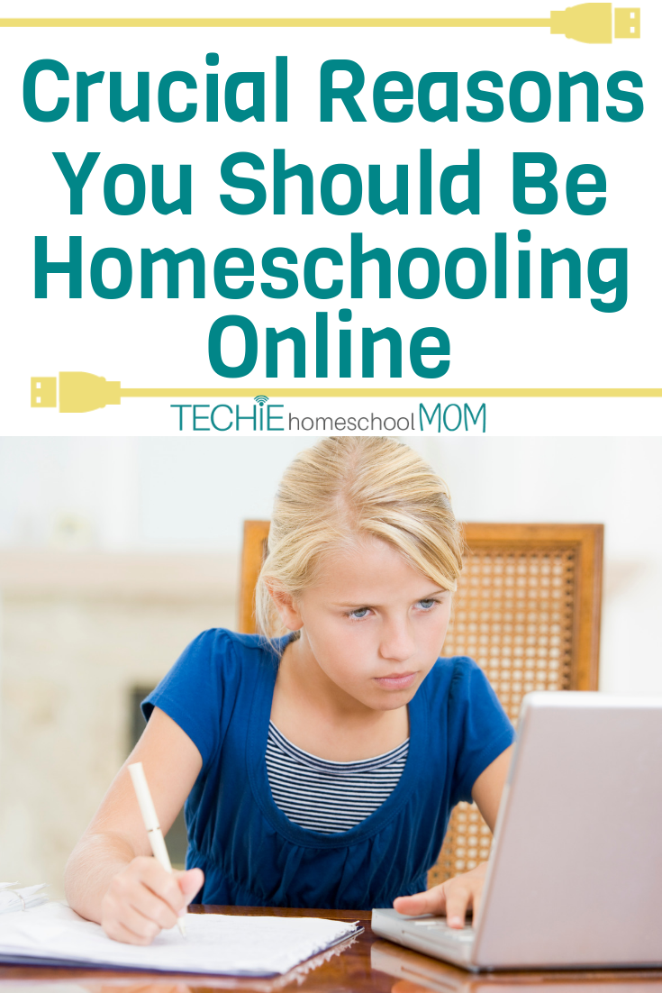 Wondering why so many homeschoolers are ditching paper and pencil learning for online homeschool? Read to find out why you MUST be homeschooling online if you want what's best for your kids.