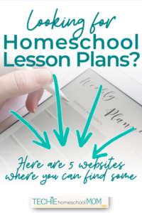 Homeschooling is easier with ready-made-lessons. Discover the best places to find lesson plans to use for homeschooling.