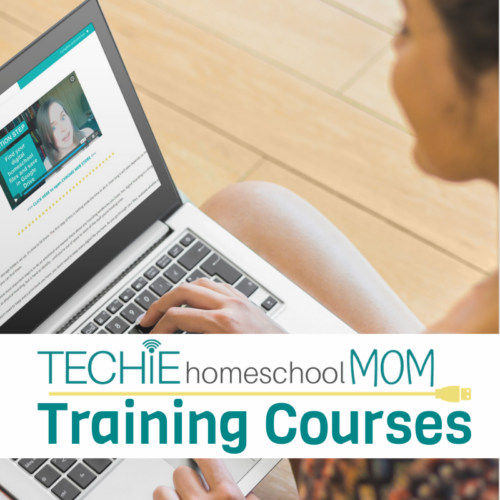 Techie Homeschool Mom Training Courses
