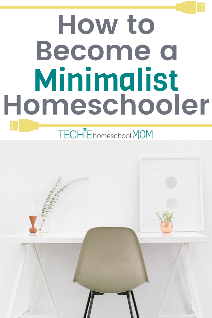 Is minimalism possible for homeschooling families? You bet! Read these great tips for how to become a minimalist homeschoolers.