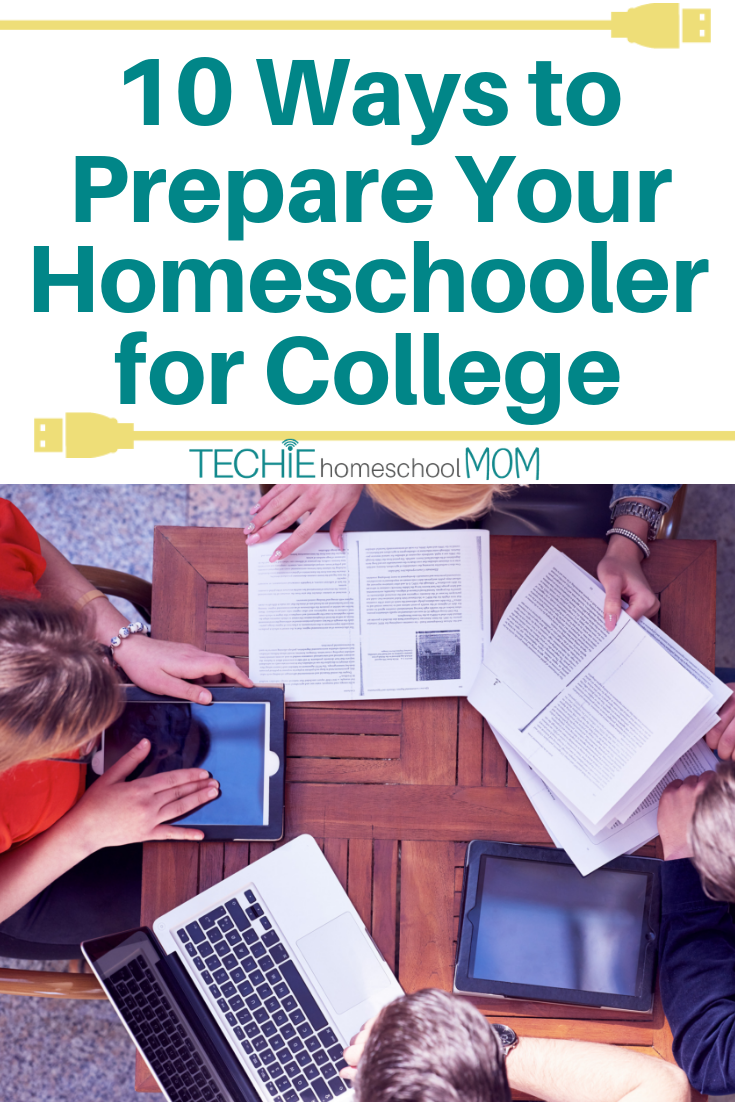 So, that young adult you've homeschooled for years is heading off to college. How will they ever function without you? Check out these tips for preparing your homeschooler for college success
