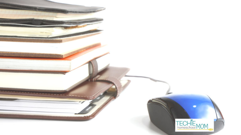 """""""Classical"""" and """"Technology"""" don't seem to jive. But that's not the case for this techie homeschooler. Read to discover how Holly integrates tech into her Classical Homeschool."""
