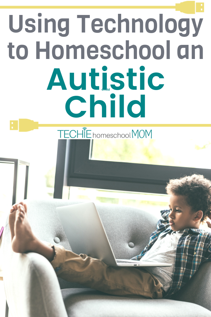 As Tal shares, it IS possible to homeschool a child with autism, especially when you're open to using online learning options. Read to discover how to add more tech into you home education for an  autistic child.
