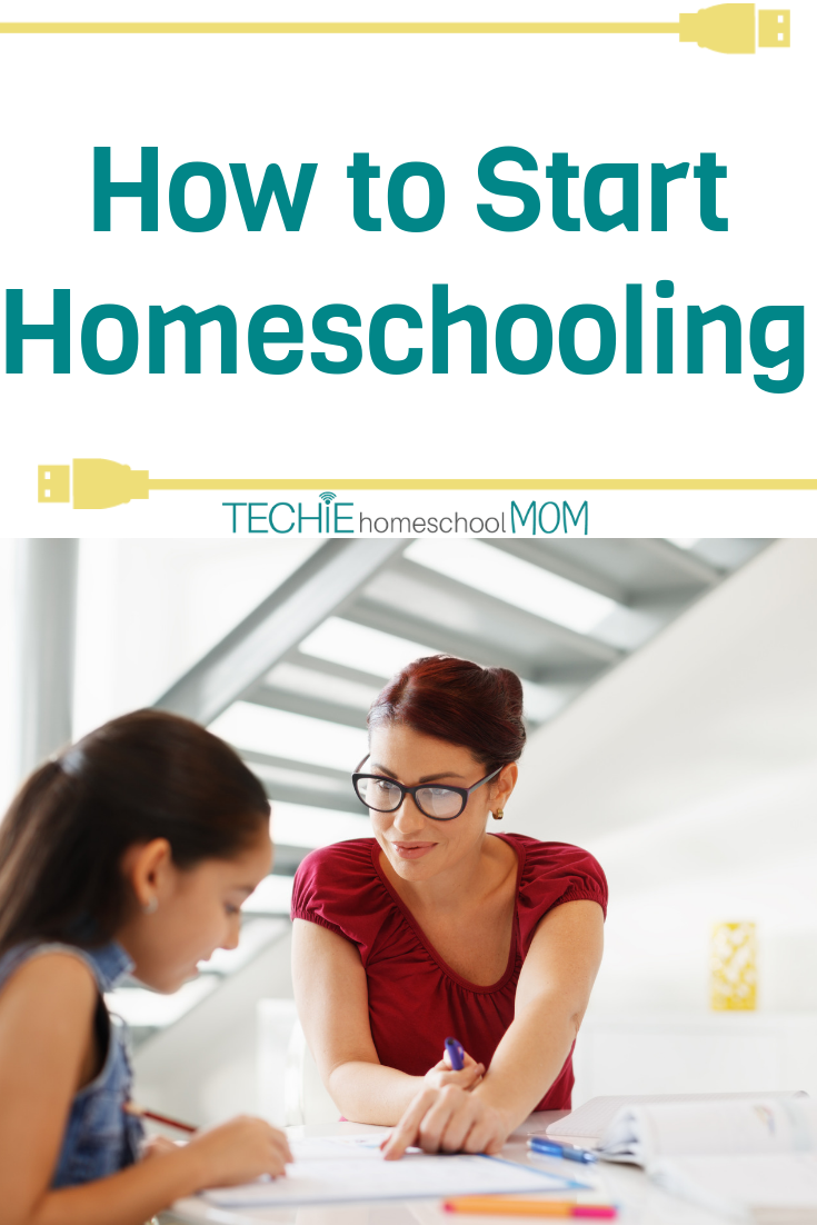 "Wondering how to start homeschooling? Read these tips from a ""seasoned"" homeschool mom on 5 kids."