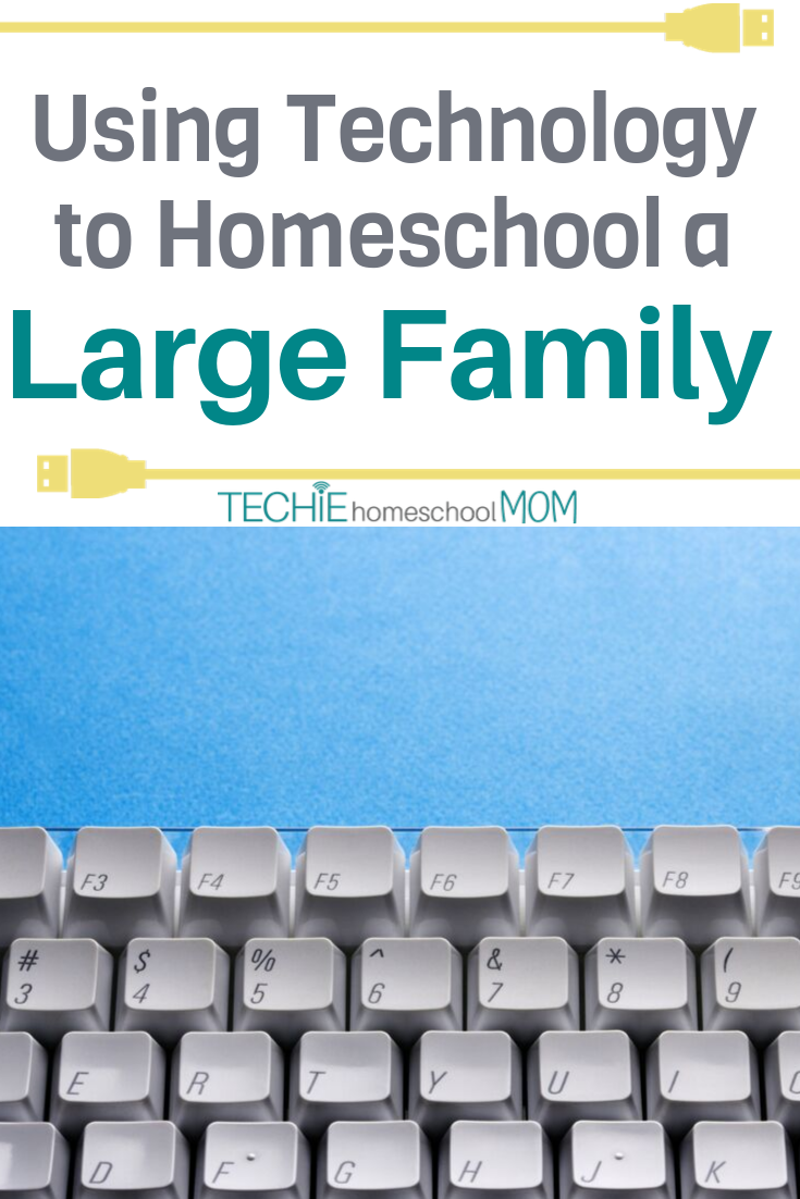 Make your homeschool life easier by adding in some digital learning resources. Read to find out how tech has saved a mom of 7 lots of time and money.
