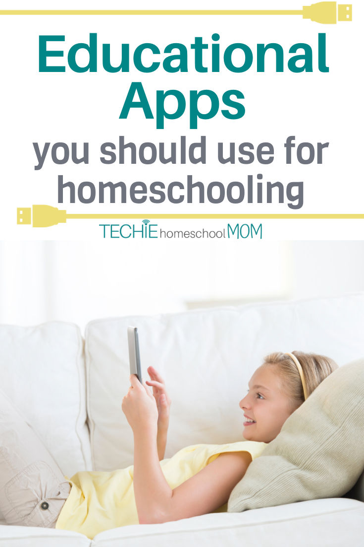Your kids love to play on your phone or tablet. So, why not turn screentime into homeschool time with these educational apps?