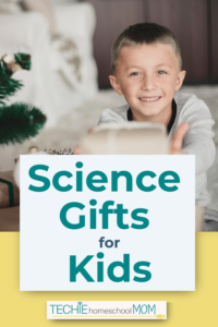 Looking for a science gift for kids? You want something interactive, but educational, right? These are sure to please.