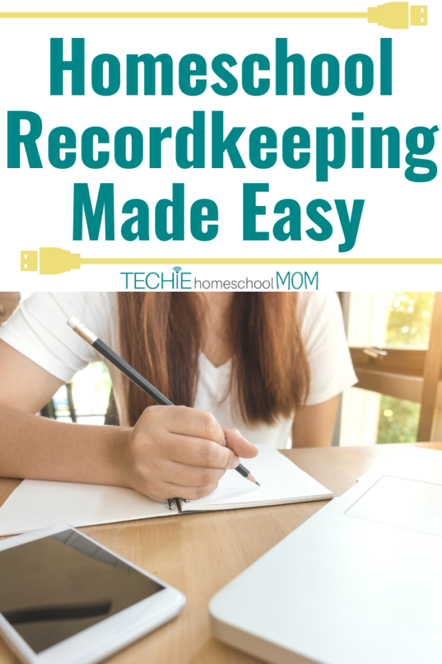 Need an simpler method for keeping track of your kids' home education? Try this easy homeschool recordkeeping system.