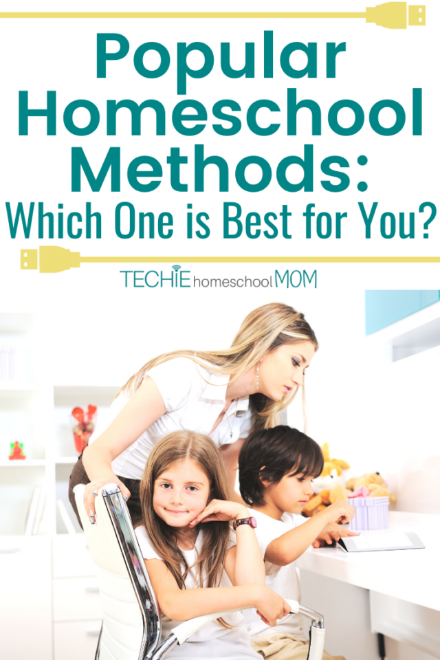 "When I started homeschooling, my biggest question was ""Which method should I use?"" This posts explains the advantages and disadvantages of some popular homeschool methods."