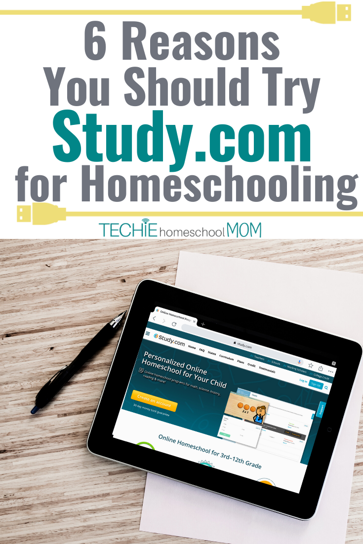 Study.com isn't just for homework help.  There are lots of reasons you should consider for your homeschool curriculum as well.