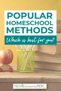 """When I started homeschooling, my biggest question was """"Which method should I use?"""" This posts explains the advantages and disadvantages of some popular homeschool methods."""