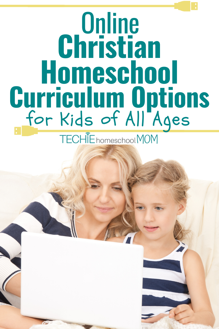 It's so hard to sift through all those online curriculum options to find ones that teach the Bible. This list helps by sharing only Chrisitian options for online homeschool curriculum.