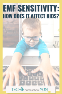 Is EMF sensitivity really a thing? And are our kids vulnerable? Read this post to answer those questions and discover some tools for minimize the effects.