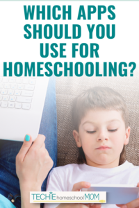 Turn screentime into learning time. Read this post to discover why you should be using more apps for homeschooling.