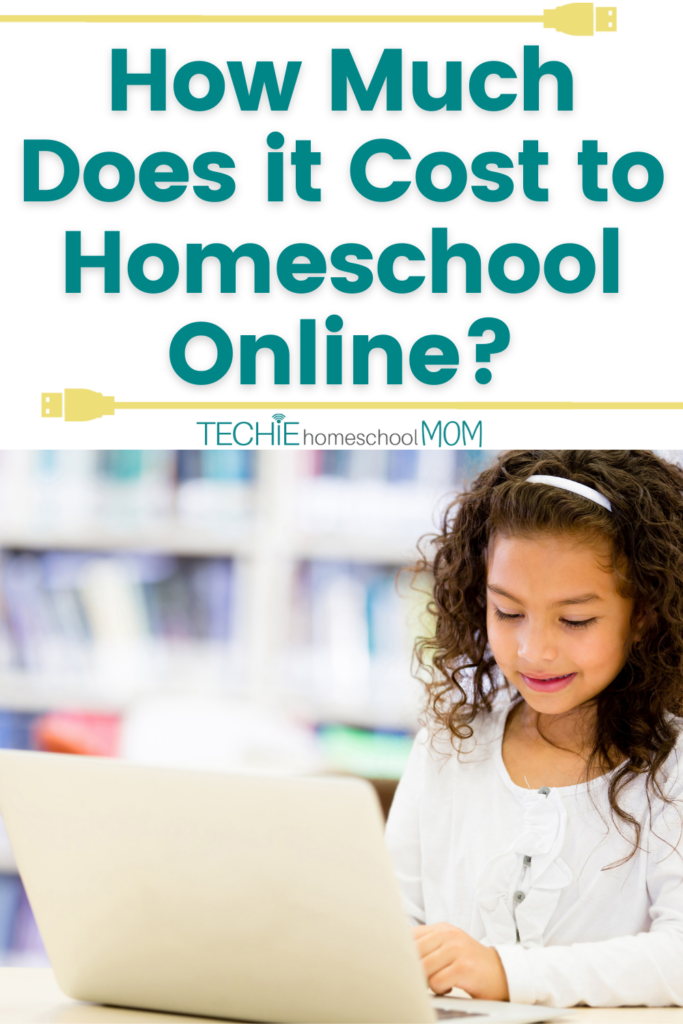 After homeschooling for 16+ years, I've learned that the cost to homeschool online isn't more expensive than more traditional homeschooling. This post looks at how much it costs to homeschool online.