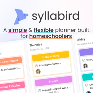 a simple and flexible planner built for homeschoolers